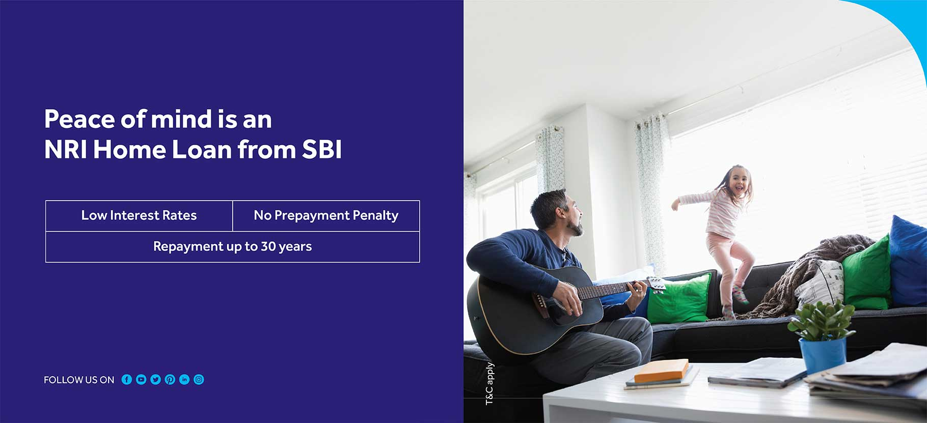 Peace of mind is an Nri home loan from sbi